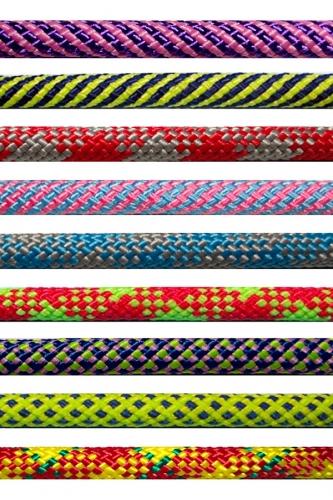 Nylon rope for rhythmic gymnastics