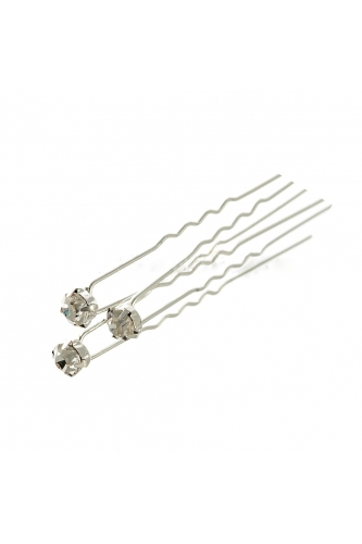 Hairpins with stone