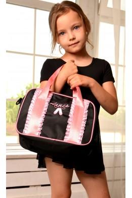 Dance bag black/pink