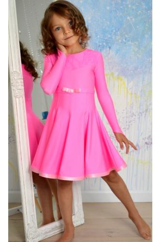 Juvenile dance dress light pink