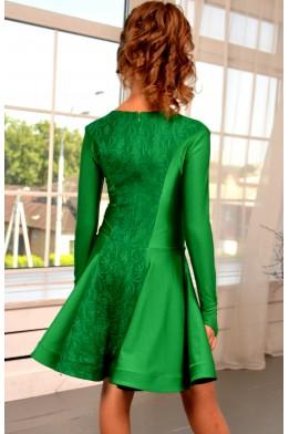 Juvenile dance dress green