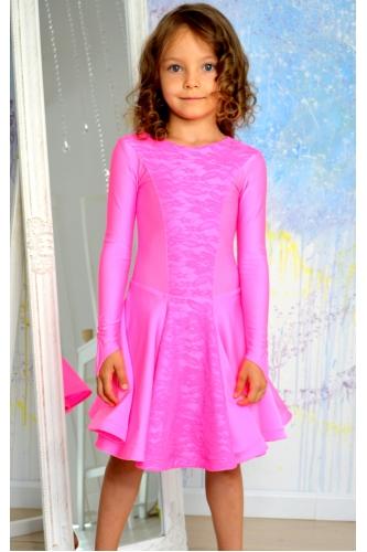 Бейсик для танцев нежно-розовый