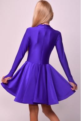 Juvenile dance dress violet