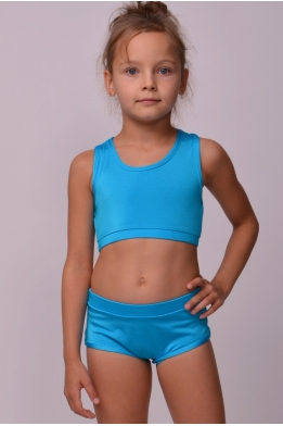 Set bra+shorts royal