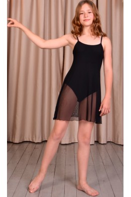 Leotard dress for dance and ballet