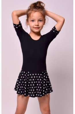 Leotard with skirt for dance and gymnastics