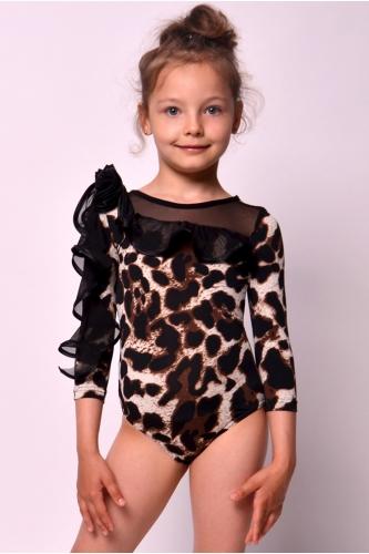 Купальник леопардовый для танцев