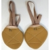 Ivari Sport half sole textile shoe nude