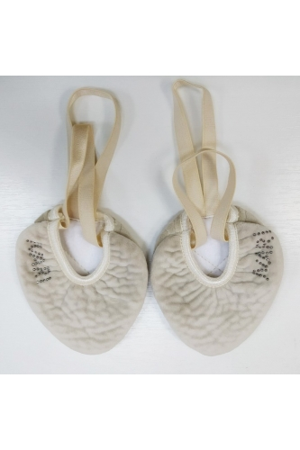 Ivari Sport textile half sole shoe nude