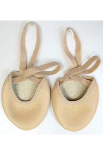 Lider half sole shoe nude
