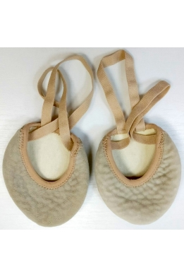 Lider super soft half sole shoe nude