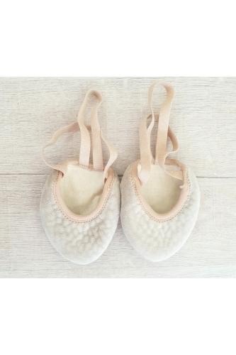 Lider super soft half sole shoe nude