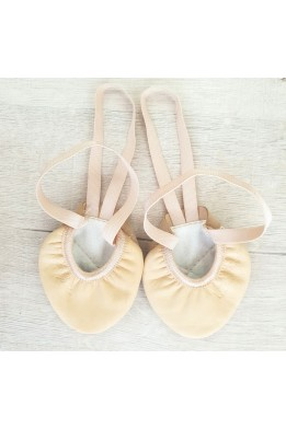 Ivari Sport half sole leather shoe nude