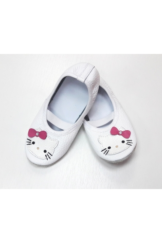 Hello Kitty leather ballet shoes