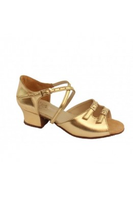 Dance shoes for girls (gold)