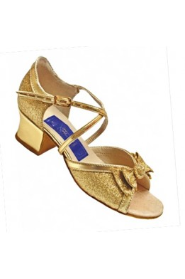 ClubDance dance shoes for girls (gold)
