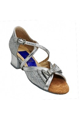 Dance shoes for girls (silver)