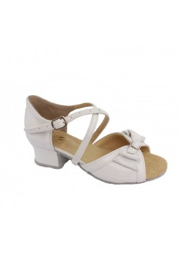 Dance shoes for girls (white)