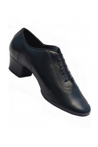 Туфли мужские Латина (черная кожа)