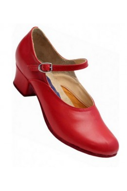 ClubDance women character shoes (red)