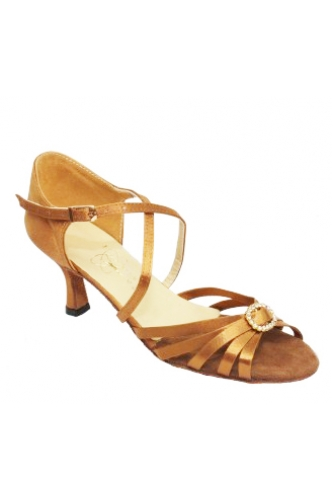 Latina ClubDance women dance shoes (beige satin)