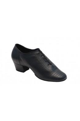 Туфли тренировочные универсальные (черная кожа)