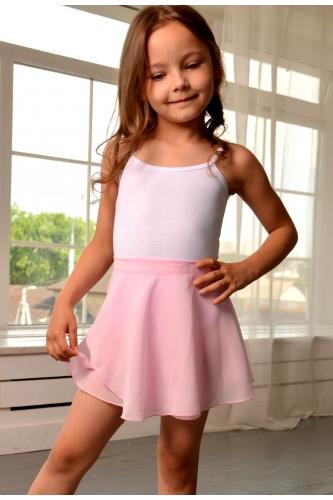 Wrap over skirt light pink