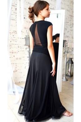 Ballroom skirt with crinoline