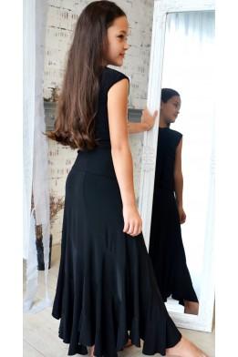 Ballroom skirt black