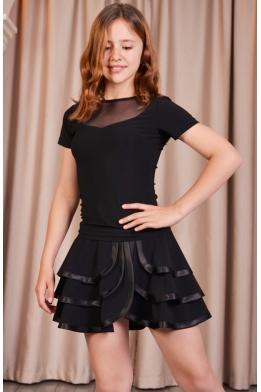 Трехслойная танцевальная юбочка