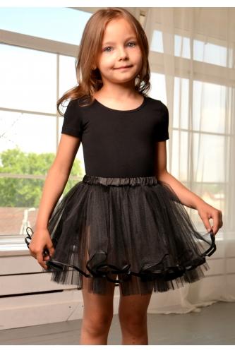 Tulle tutu skirt black