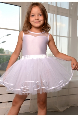 Tulle tutu skirt white