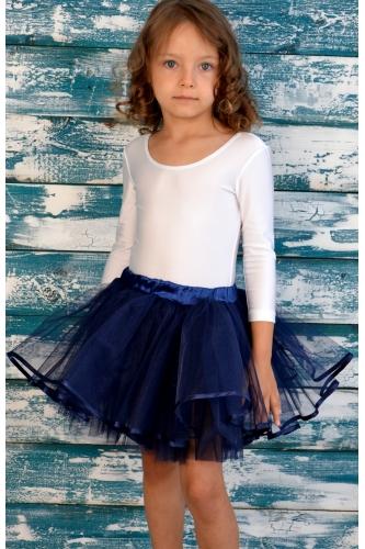 Tulle tutu skirt dark blue