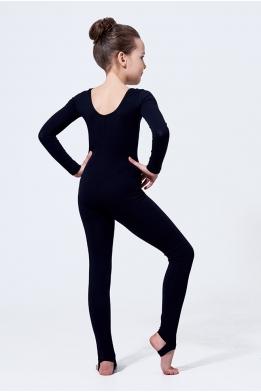 Classic long unitard for dance and gymnastics