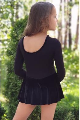 Купальник Liza с бархатной юбкой